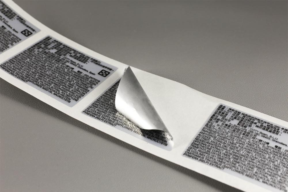 Etiquettes anti-rayures pour machine industrielle
