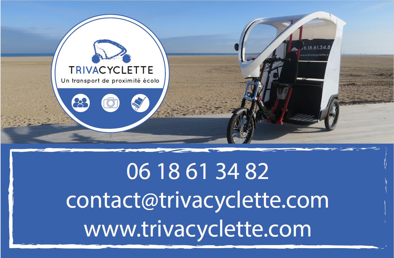 Une communication totale pour le nouveau tricycle de Ouistreham